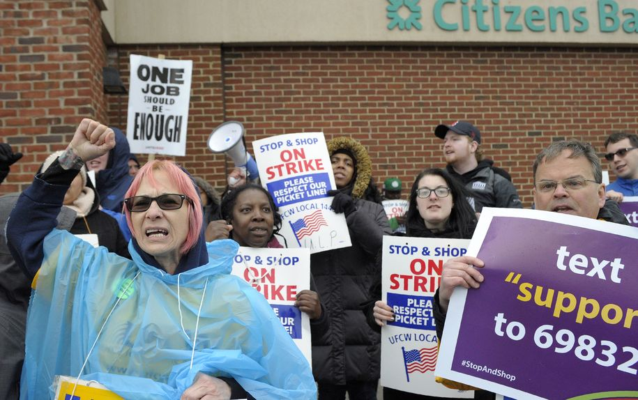 'Morally wrong' and 'not kosher': Stop & Shop workers get support from Joe Biden and rabbis