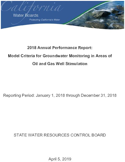 State Water Board report documents oil industry pollutants in Kern County water supply wells