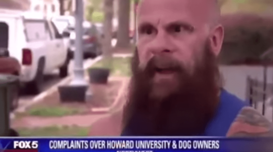 White guy says historically black school should 'move' if they don't want campus used as dog park