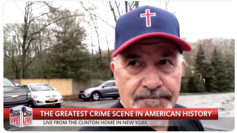 Danger: Angry Trump supporter showed up at Hillary Clinton's home to demand her arrest