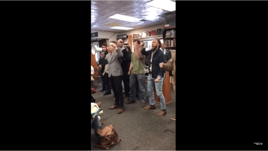 White supremacists invade D.C. bookstore, chant 'this land is our land' during race discussion