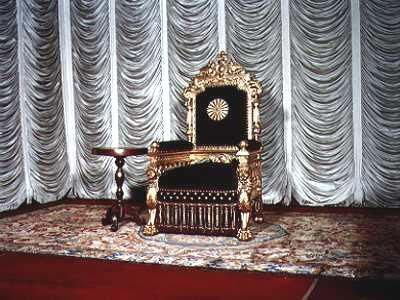 Japanese Imperial Throne