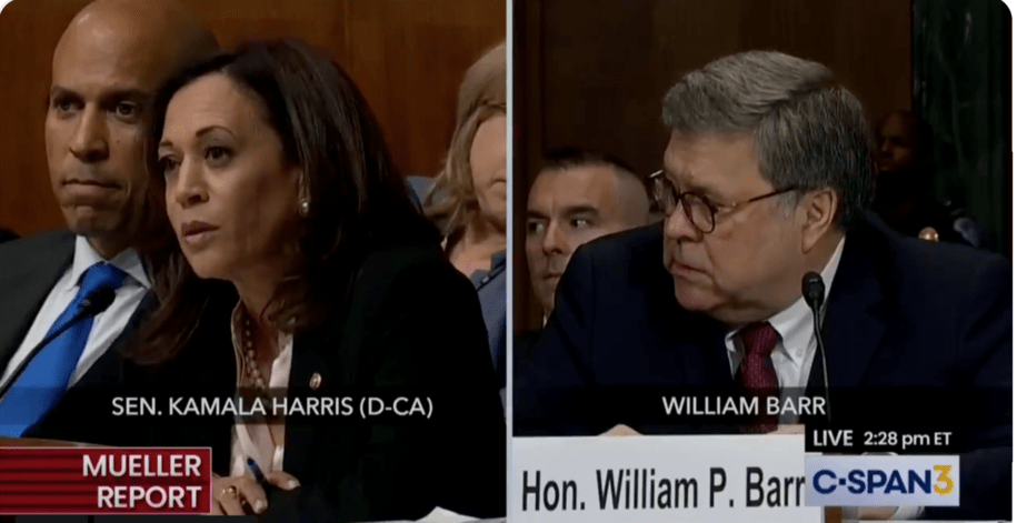 Sen. Kamala Harris absolutely nailed AG Bill Barr back in May and now he's in big trouble