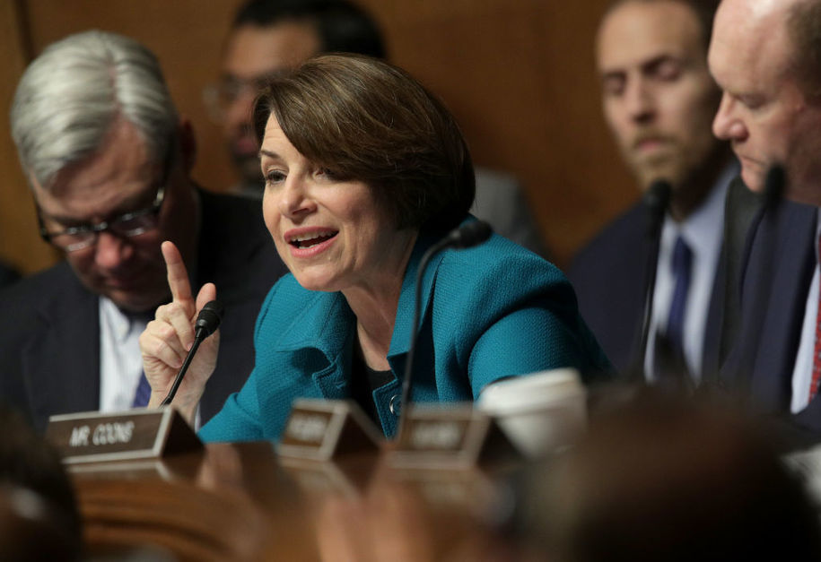 In two minutes of questioning, Amy Klobuchar demolishes Republican spin on FBI Russia probe report