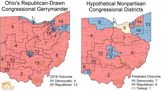 Ohio Gop S Gerrymander Goes On Trial Here S How A