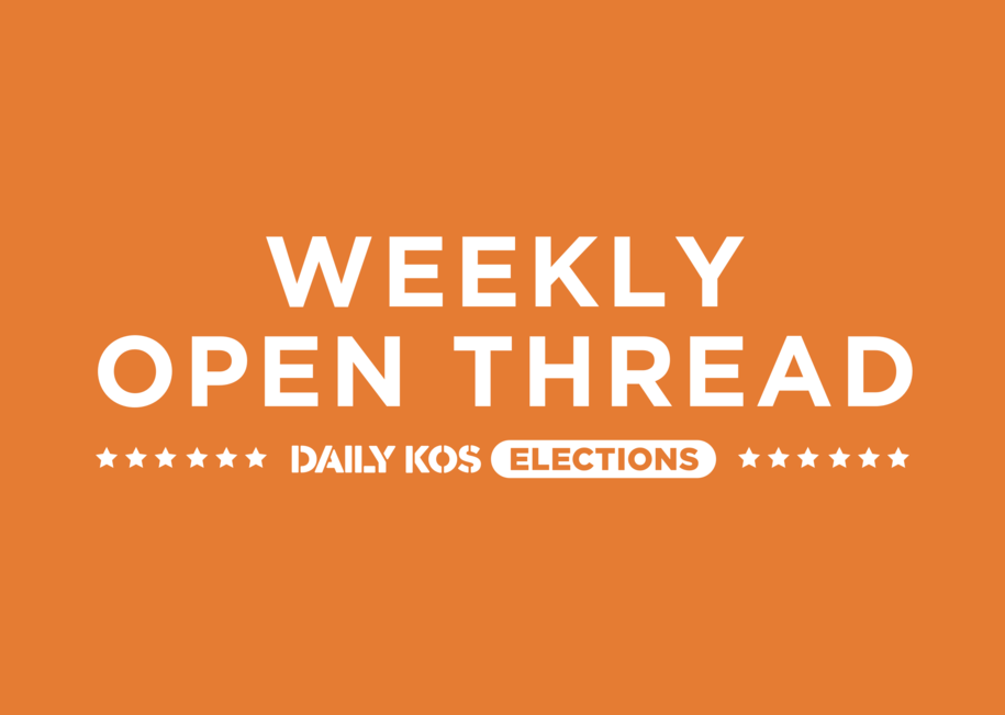 Daily Kos Elections weekly open thread