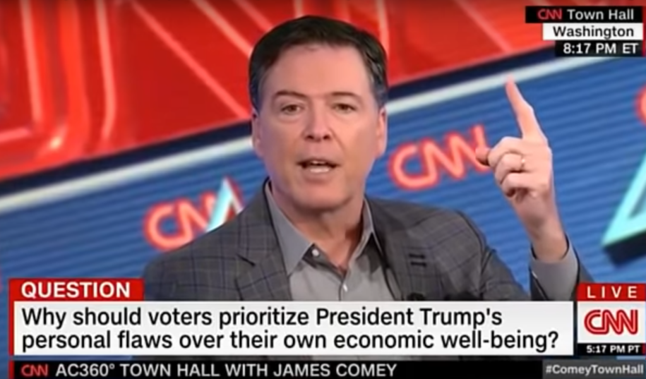 James Comey on why he isn't Republican anymore: 'You cannot have a president who is a chronic liar'