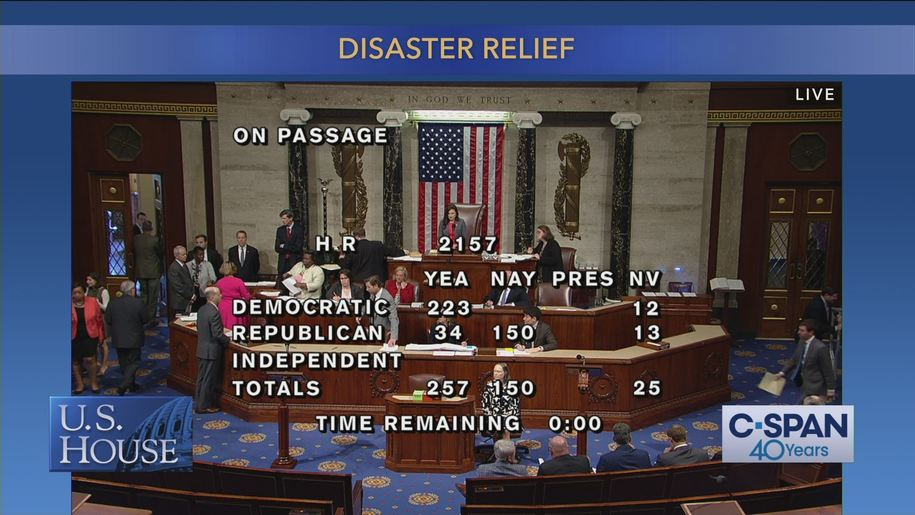 More than 30 House Republicans buck Trump, vote...