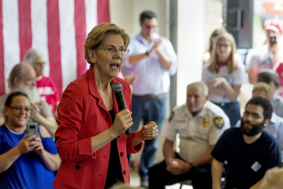 Shocking news: Elizabeth Warren used to work in her chosen profession, and got paid well for it