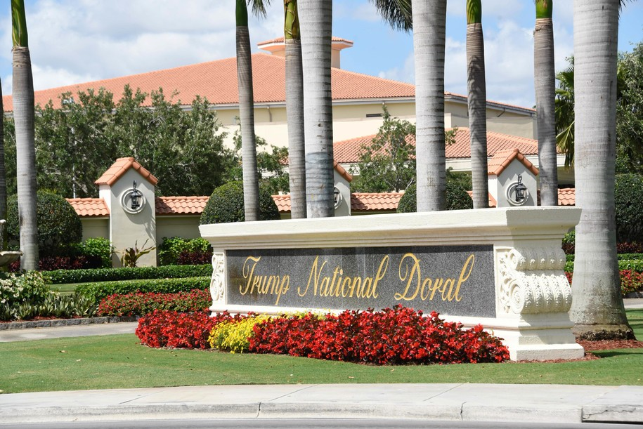 Trump administration bucks the Constitution by selecting Trump's Doral resort for next year's G-7