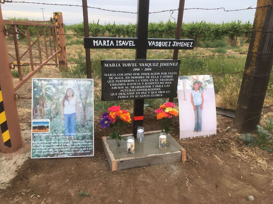 Remember Maria Isavel: 11th anniversary of tragic heat death of 17-year-old immigrant farm worker