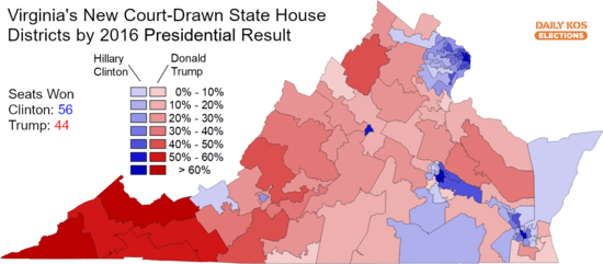 Image result for images of GOP GERRYMANDERED VA MAP