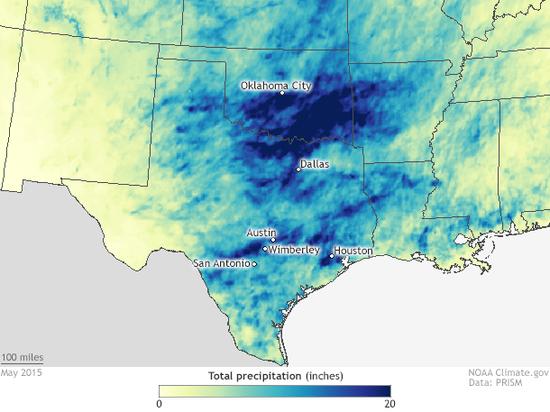 Oklahoma 'aint' OK... flooding in the plains