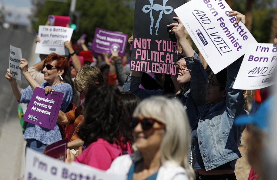 What happens with a majority-female legislature? Women's rights are expanded. Thanks, Nevada!