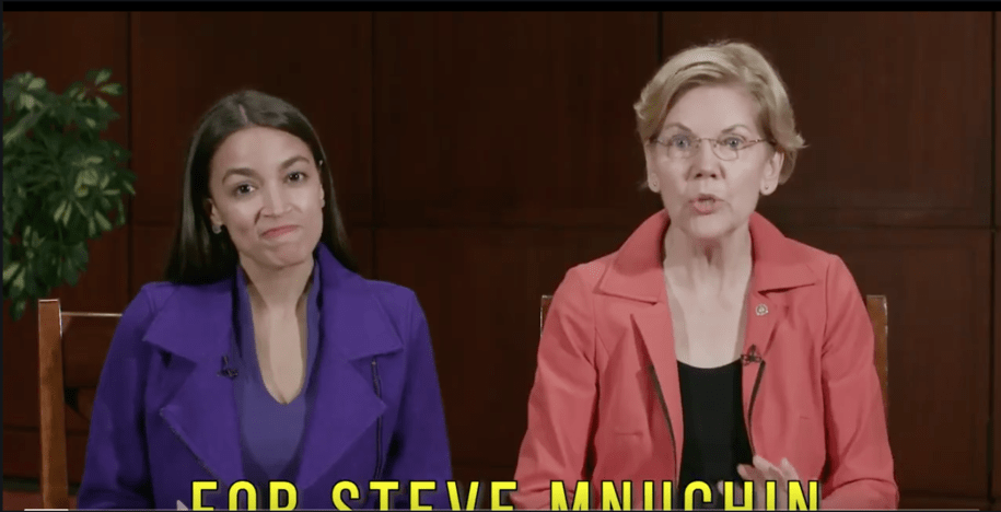 Warren and AOC have questions about Steve Mnuchin's role in Sears' collapse (and they have receipts)