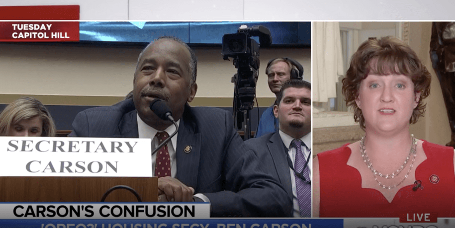 Rep. Katie Porter calls BS on Ben Carson's lame excuse for not knowing his job