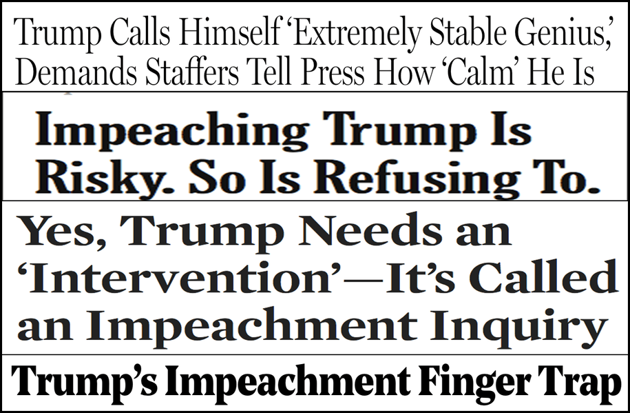 Abbreviated pundit roundup: Pressure grows for Congress to begin impeachment inquiry