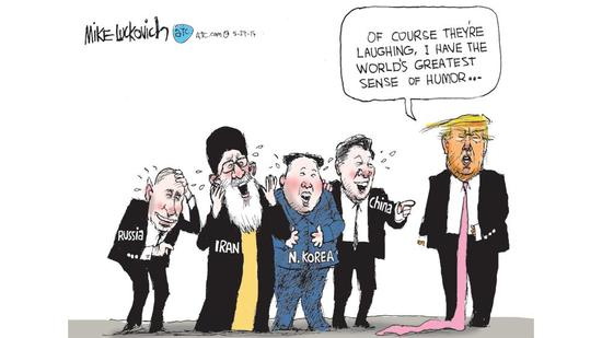 05/29 Mike Luckovich: So much laughter