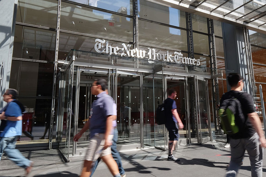 New York Times publishes Biden smear from discredited, rightwing, Wikipedia-plagiarizing hack
