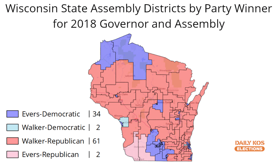 photo image Morning Digest: Scott Walker's gone, but his loss shows the power of the Wisconsin GOP's gerrymander