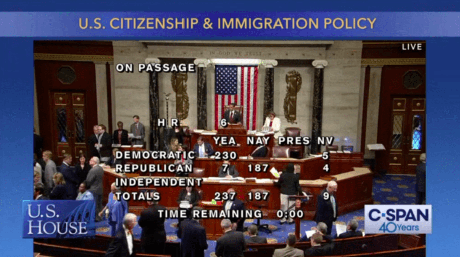 House passes bill putting Dreamers, TPS, and DED holders on path to citizenship