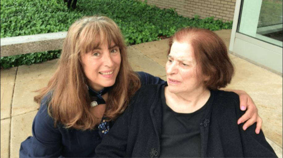 Mimi Brun and her mother, Virginia Wahab. Brun filed a lawsuit alleging a nursing home abused its guardianship of her mother due to an unpaid debt.