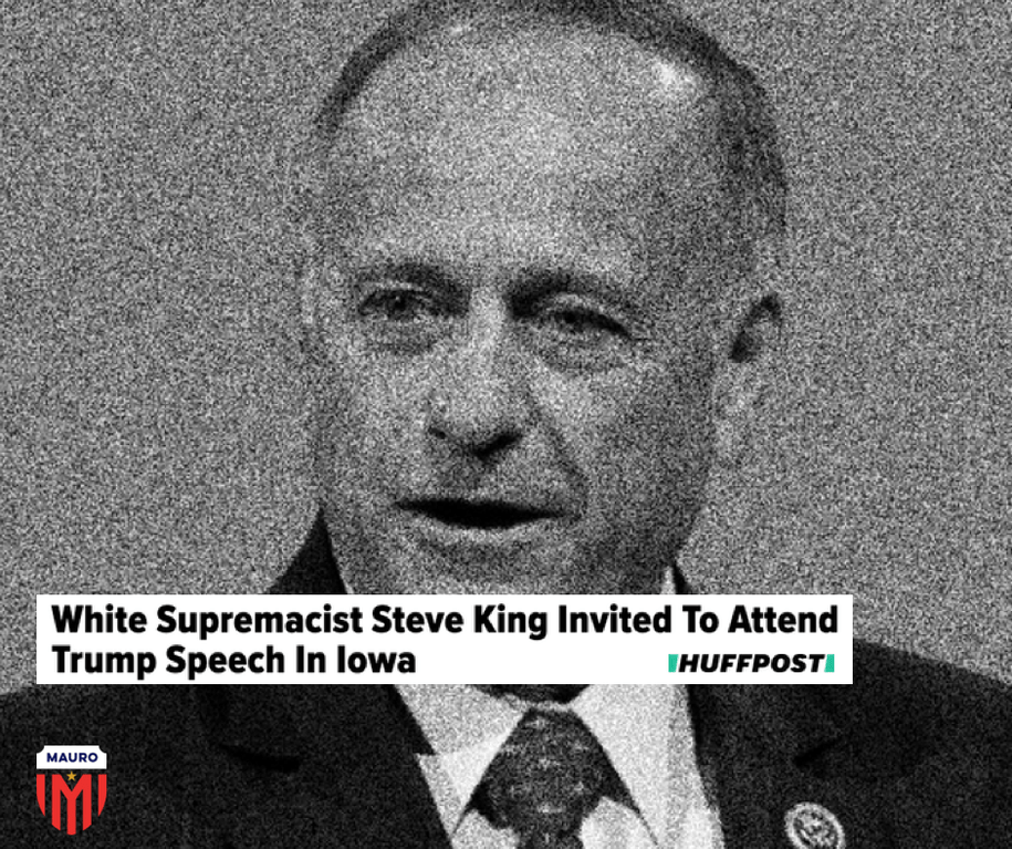 Steve King + Joni Ernst: Campaigning with Donald Trump