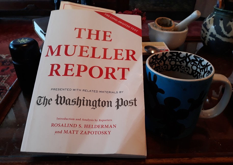 Mueller Report G. Trumps efforts to stop disclosure of emails re: June 9 2016 meeting with Russians