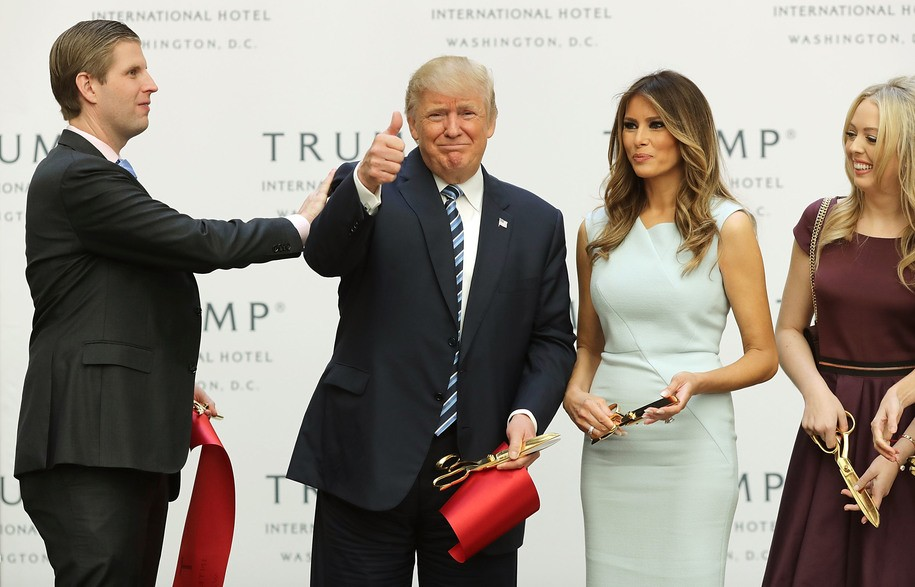 Trump just can't shake lawsuits over his unconstitutional profiting from the presidency
