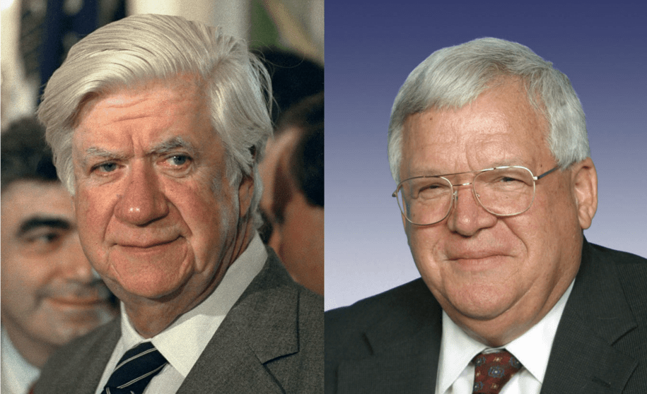 Sunday BATTLE! Tip O'Neill vs Dennis Hastert