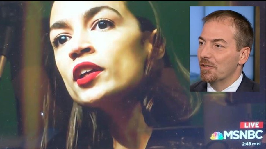Defend Alexandria Ocasio-Cortez. They are concentration camps — Chuck Todd wrong.