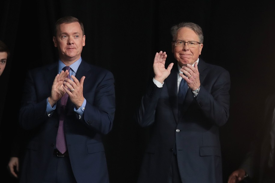 Thoughts and prayers: NRA's second in command suspended amidst accusations of a coup
