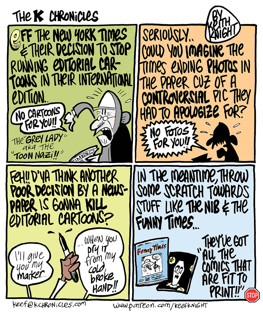 Cartoon: N Y  Times