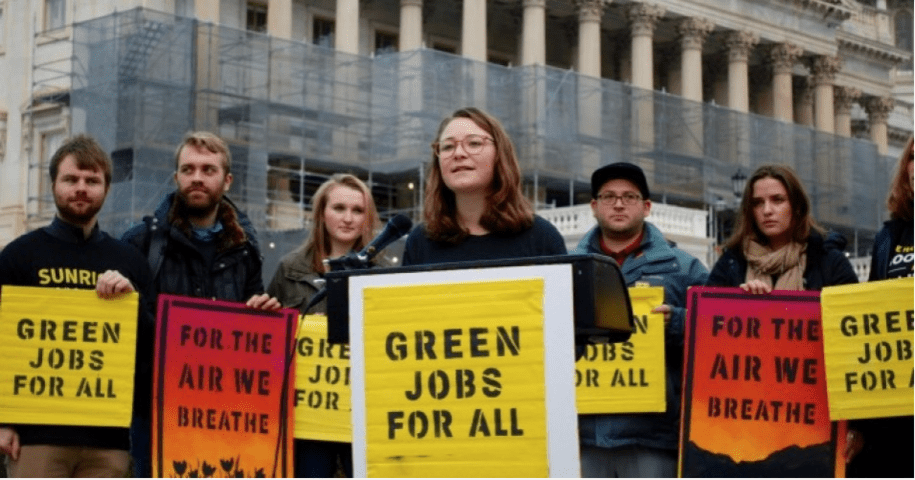 Save the Planet. Save Ourselves. Let's Bullhorn Progress and The Green New Deal.