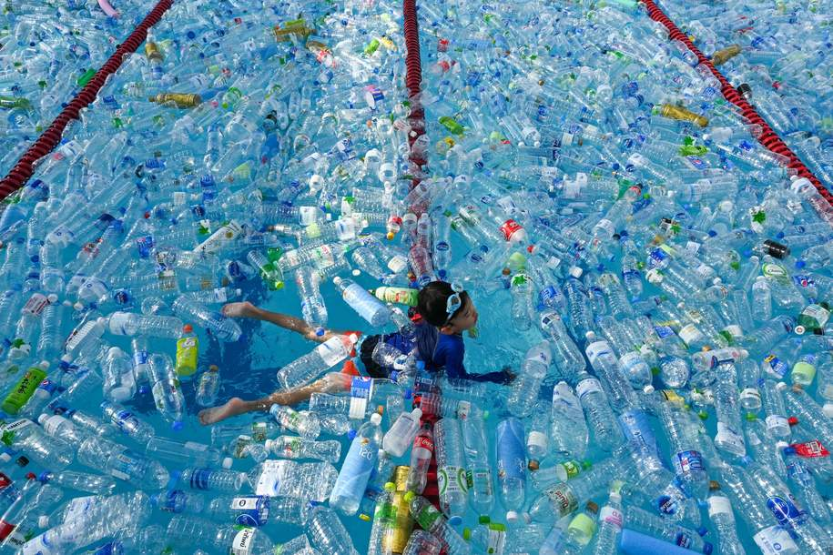 New investigation shows the majority of 'recycled' U.S. plastics are dumped in landfills or burned