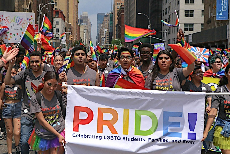 Live Stream NYC Pride March. Almost As Good As Being There. Over, 4 Million Celebrants!