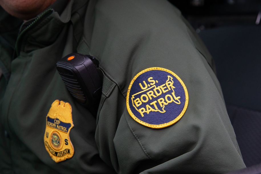 photo image Border agent who complained about 'murdering savages' pleads guilty to hitting migrant with truck