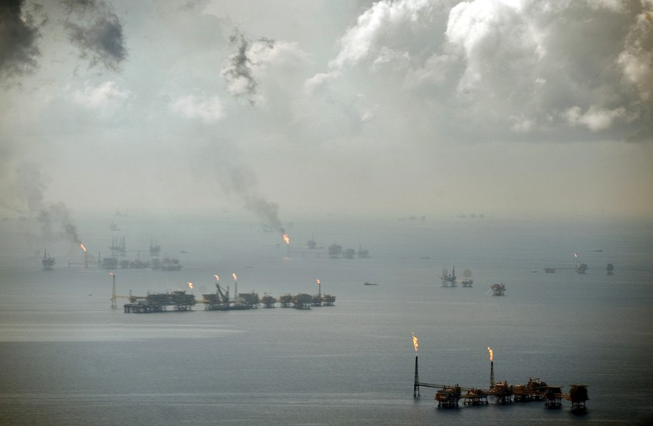 Oil company has been leaking 4,500 gallons of oil per day into the Gulf of Mexico for 14 years
