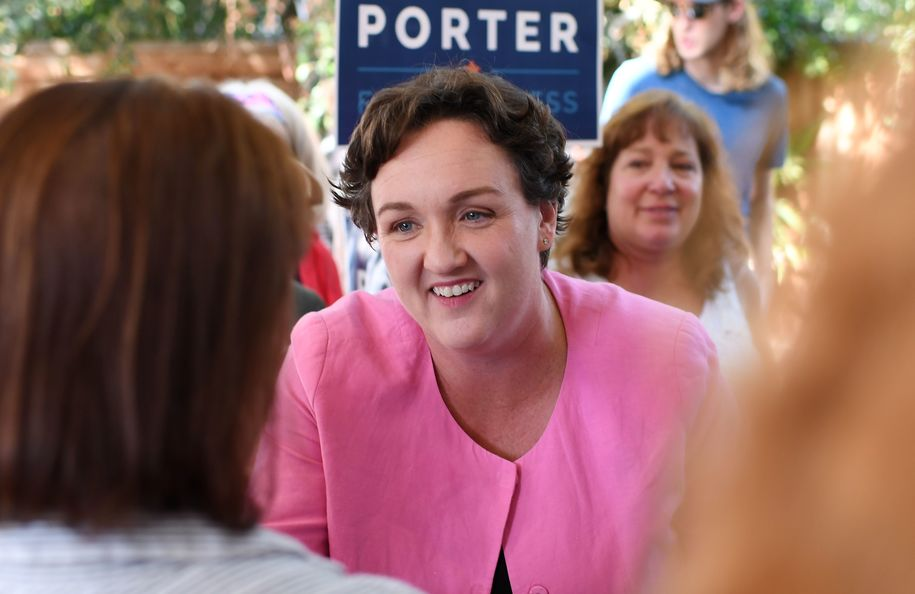 Rep. Katie Porter dives into key House primaries, citing 'duty to improve the institution'