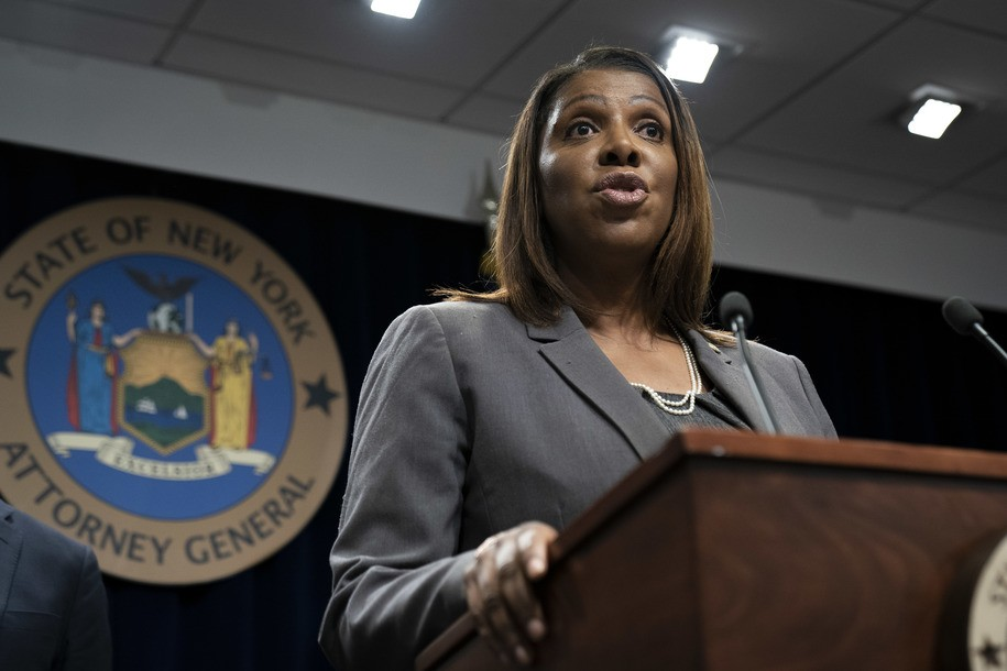 New York Attorney General claps back after Trump attacks her on Twitter, 'My name is Letitia James'