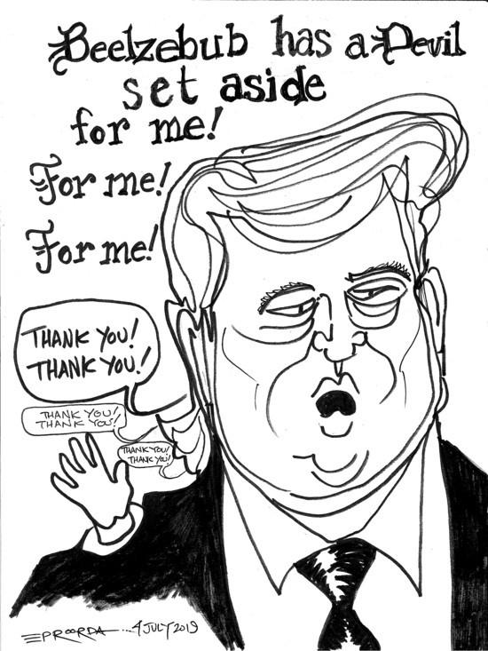 Cartoon: DJ Donald MC picks
