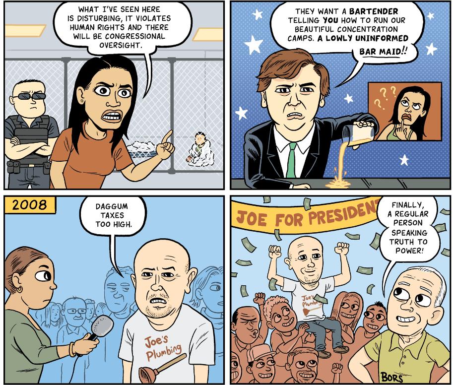Flipboard: Cartoon: Working Class Heroes