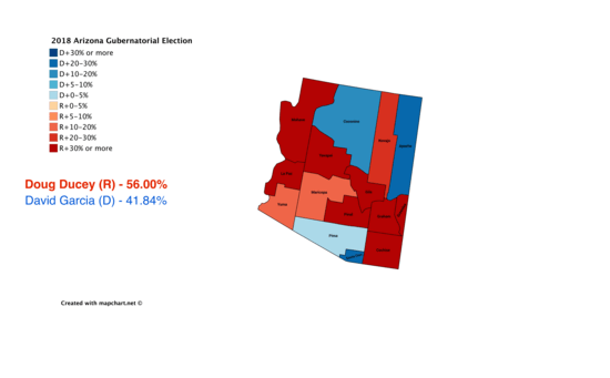 Political Geography Arizona The New York Times