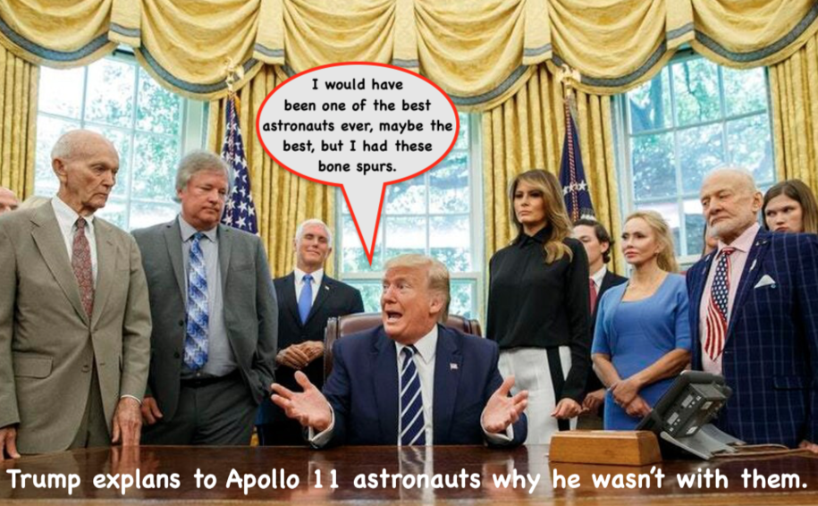 Trump Explains Why He Was Never An Astronaut