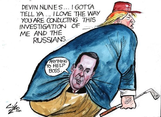 We May Be More Screwed. Trump Might Be Considering Nunes to Replace DNI Coats.