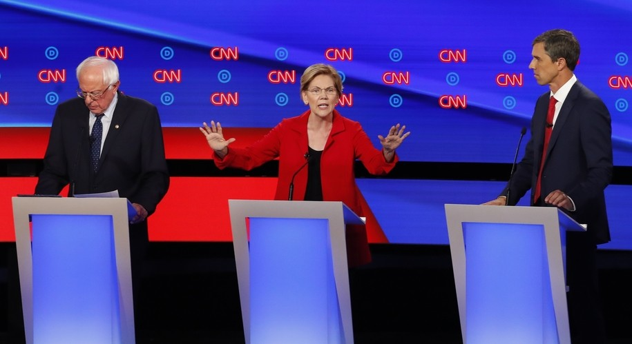 Live coverage of Tuesday's Democratic presidential debate, #5
