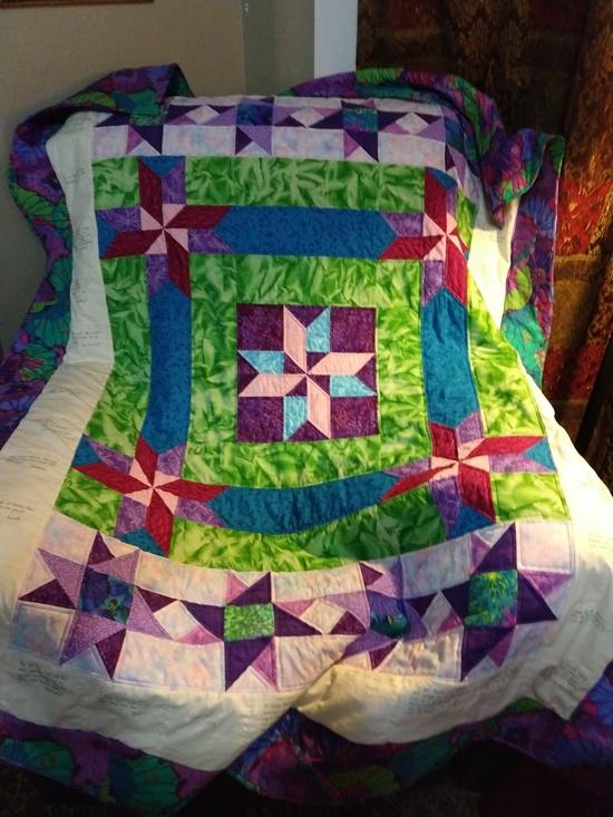 Freelance Escapologist community quilt