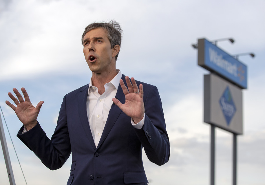 Beto O'Rourke blasts question by press: 'What do you think? You know the sh*t he's been saying.'