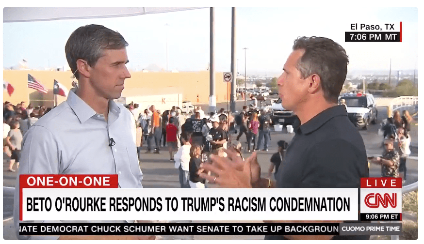 Beto O'Rourke explains how the media is failing on racism