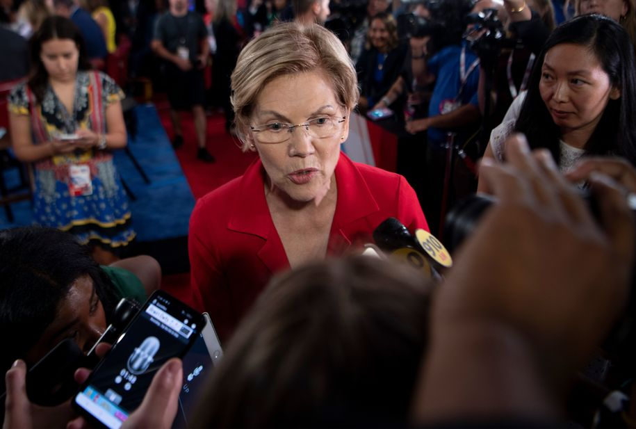 Elizabeth Warren is defining the terms of the debate—it's the only way to beat Trump in 2020